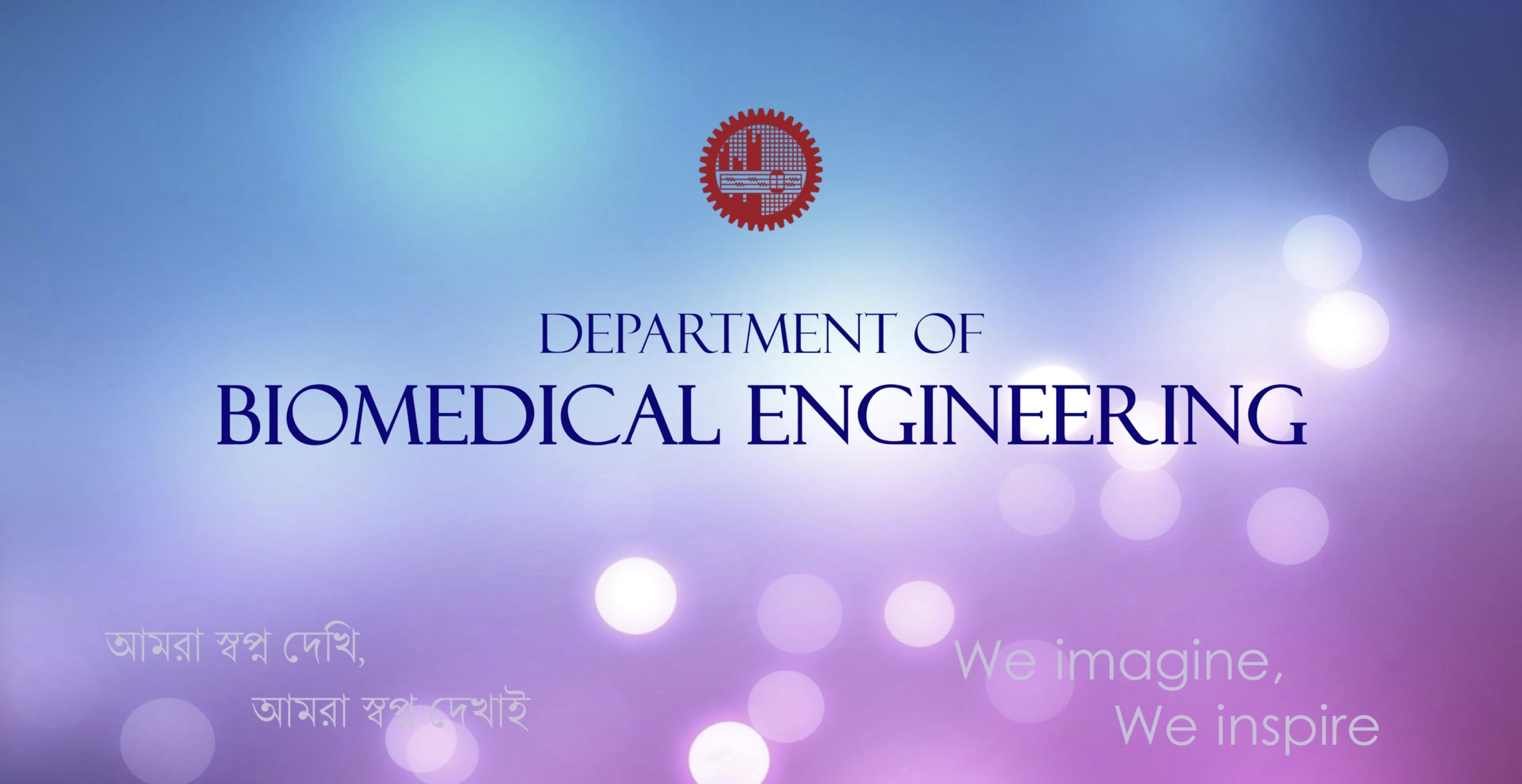Seminar on Biomedical Engineering for Prospective Students